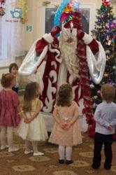 Дед Мороз и Снегурочка в VIP костюмах