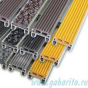 Коврики резиновые и ворсовые,  входные решетки