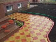 Тротуарная плитка,  блоки бетонные,  вазоны,  скульптуры из бетона.