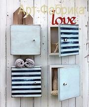 Изготовление подвесных шкафчиков и др. мебели на заказ