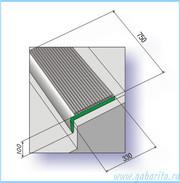 Проступи - резиновые накладки на ступени
