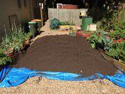 Чернозем,  земля садовая,  земля плодородная,  почвогрунт в мешках,