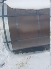 Продаю оцинкованный стальной лист в бухтах два рулона ral 8017