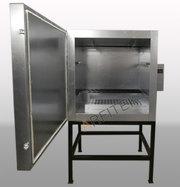 Малогабаритная печь (камера) полимеризации порошковой краски КП-080