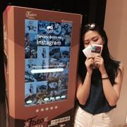 Автомат по печати фото из Instagram Инстамат FOTANOTA