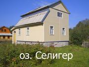 2-х этажный дом (коттедж) на озере Селигер,  Осташковский район,  деревня Любимка,  д.12
