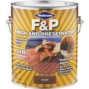 F&P Finish And Preservative Масло  с  добавлением  воска  для террас и