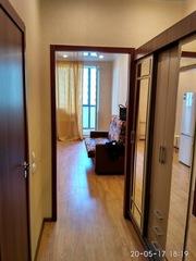 Сдается квартира-студия в долгосрочную аренду,  м. Девяткино