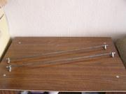 Никелированные прутики для оконных занавесок