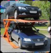 Продаем двухуровневые парковочные подъемники  зависимого типа
