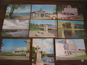 9 почтовых открыток г. Хаапсалу,  Эстонская сср
