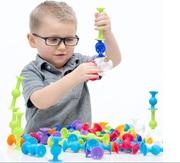 Конструктор-присоска для детей Lapka