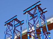АРЕНДА: Мостовые инвентарные конструкции стоечные