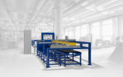 Автоматизированная линия для производства сварных решетчатых настилов