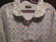 Новая ночная сорочка с длинным рукавом