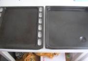 Протвини эмалированные для кухонной плиты 5 шт