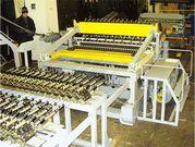 Линия для производства сварной сетки в рулонах