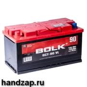 Аккумулятор автомобильный прямая полярность +- Bolk 60 а/ч 500А AB601