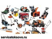 Ремонт снегоуборщиков,  бензопил,  генераторов, водяных насосов,  электрои