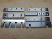 Шлифовка ножей гильотинных,  дробилок,  шредеров,  роторов,  пресс ножниц.