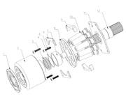 Запчасти и комплектующие для гидронасоса Rexroth A4VSO56