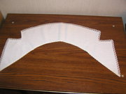 Белый воротник для платья или жакета