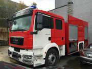 Пожарный автомобиль Т-35 / MAN,  2015 г