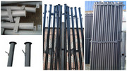 Столбы металлические 2м;  2, 4м;  3м