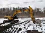 Гусеничный экскаватор CAT 320,  2011 г,  7800 м/ч