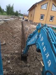 Аренда мини экскаватора в Рощино