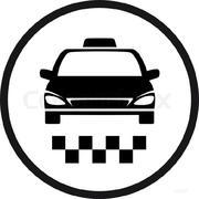 Водитель такси на своём авто