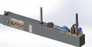 Инсинератор для утилизации твердых отходов
