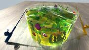 Детская развивающая игра 3D-рыбалка