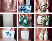 Любые свадебные аксессуары ручной работы