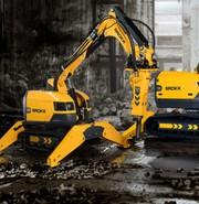 Поставка роботов-разрушителей Brokk