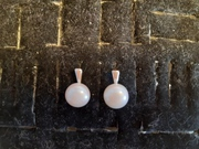 Серьги из серебра 925 с жемчугом