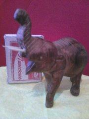 Деревянная фигурка - Слон