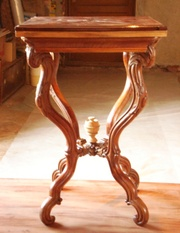 ломберный ореховый столик